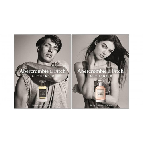 Abercrombie & Fitch Authentic Woman 50ml eau de parfum spray