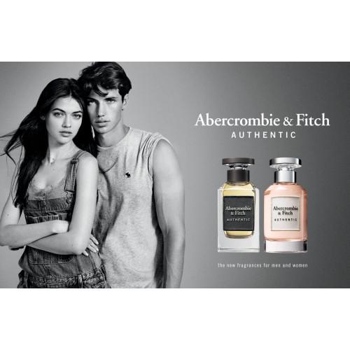Abercrombie & Fitch Authentic Woman Set 100ml  edp + 200ml Bodylotion + 15ml edp