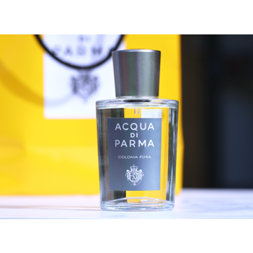 Acqua di Parma Colonia Pura Set 100ml Eau de Cologne spray + 50ml Showergel + 5ml edc Miniatuur