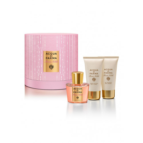 Acqua di Parma Rosa Nobile Set 100 ml Eau de parfum + 75 ml Shower gel + 75 ml Bodycream