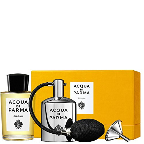 Acqua di Parma Colonia 180ml eau de cologne flacon + Refillable Metal Vaporizer