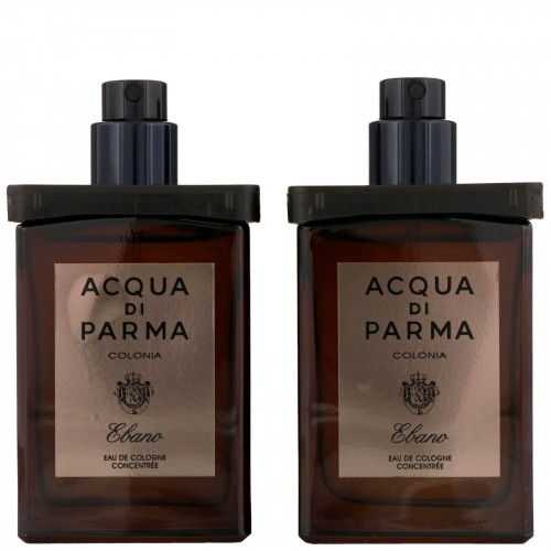 Acqua di Parma Colonia Ebano set 2 x 30ml Eau De Cologne Travelspray refills