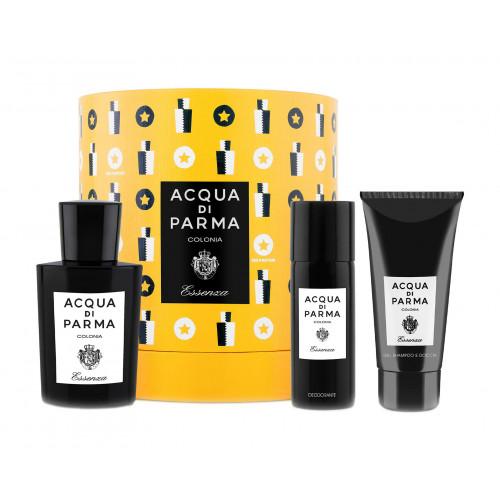 Acqua di Parma Colonia Essenza Set 100ml Eau De Cologne Spray + 75ml Showergel + 50ml Deodorant spray