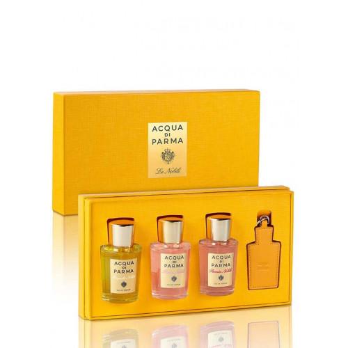 Acqua di Parma Le Nobili set Magnolia Nobile 20ml edp + Rosa Nobile 20ml edp + Peonia Nobile 20ml edp