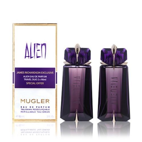 Thierry Mugler Alien Duo Set 2 x 90ml eau de parfum spray (Navulbaar)