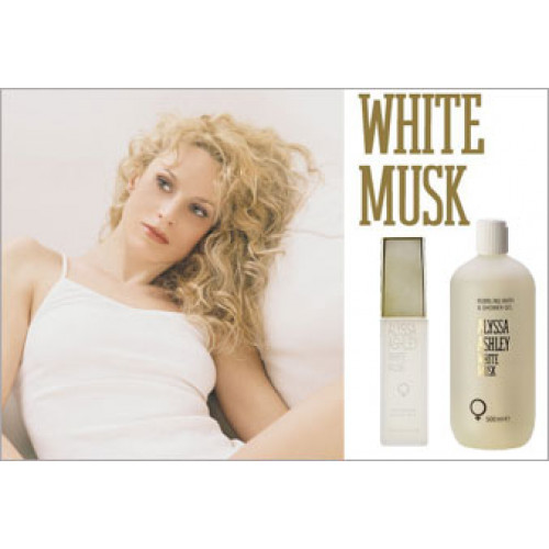 Alyssa Ashley White Musk 500ml Showergel met pomp