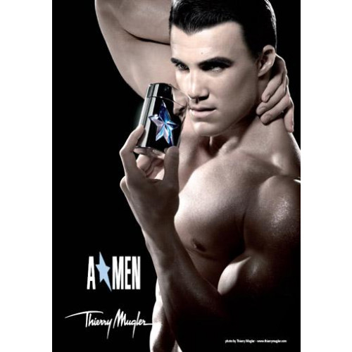Thierry Mugler A*Men 100ml eau de toilette spray (rubber flask) Refillable