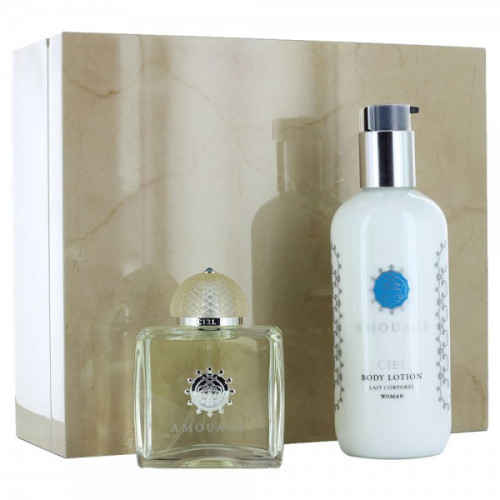 Amouage Ciel Woman Set 100ml eau de parfum spray + 300ml Bodylotion