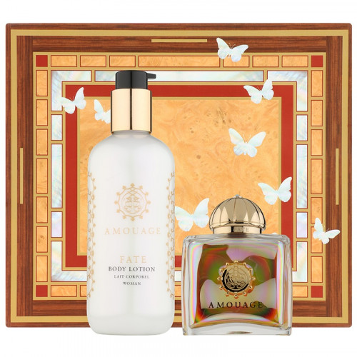Amouage Fate Woman Set 100ml eau de parfum spray + 300ml Bodylotion