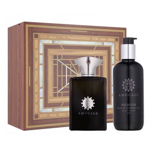 Amouage Memoir Man Set 100ml eau de parfum spray + 300ml Showergel