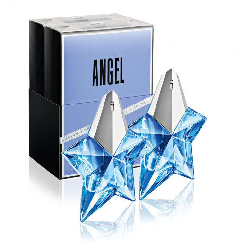Thierry Mugler Angel Duo Set 2x 50ml eau de parfum refillable spray