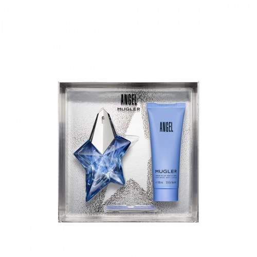 Thierry Mugler Angel Set 50ml eau de parfum refillable  spray + 100ml Bodylotion