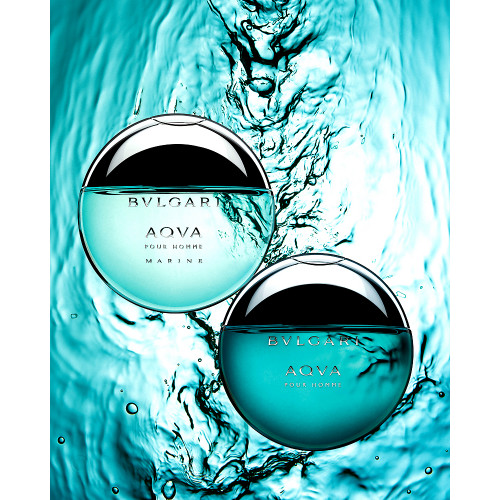 Bvlgari Aqva Marine Set 100ml eau de toilette spray + 15ml edt spray + Tas