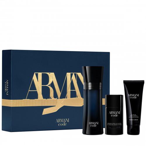 Giorgio Armani Code Homme Set 125ml edt + 75ml Showergel + 75ml Deodorant stick