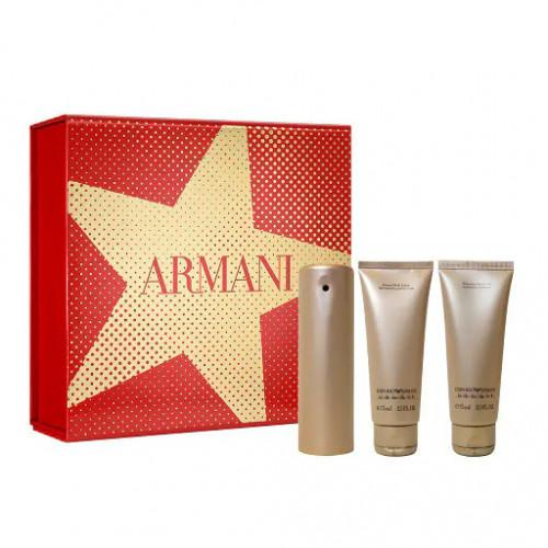 Armani Emporio She Set 50ml eau de parfum spray + 75ml Bodylotion +75 Showergel