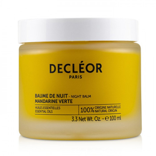 Decleor Green Mandarin Night Balm 100ml Salon size