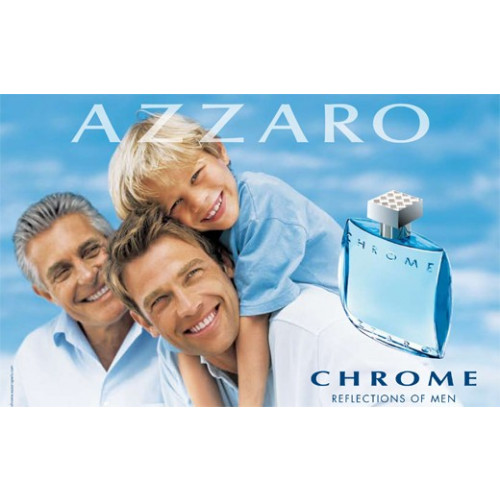 Azzaro Chrome 50ml eau de toilette spray