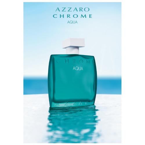 Azzaro Chrome Aqua 50ml eau de toilette spray