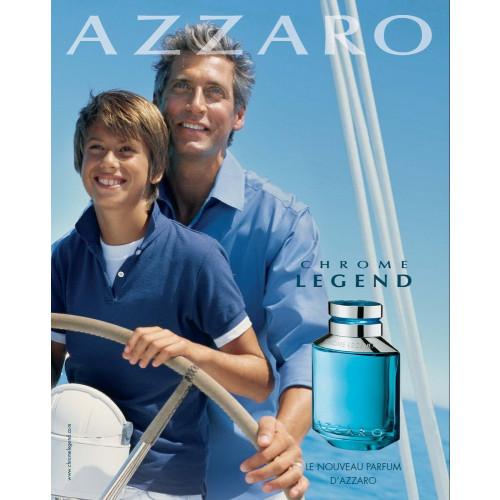 Azzaro Chrome Legend 125ml eau de toilette spray - Aromatische geuren -  Geurnoten - Over Parfum - ParfumCenter.nl