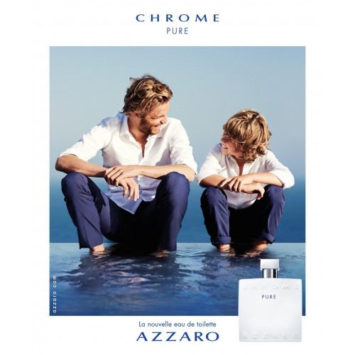 Azzaro Chrome Pure 100ml eau de toilette spray