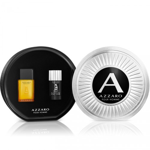 Azzaro Pour Homme Set 50ml eau de toilette spray + 75ml Deodorant Stick