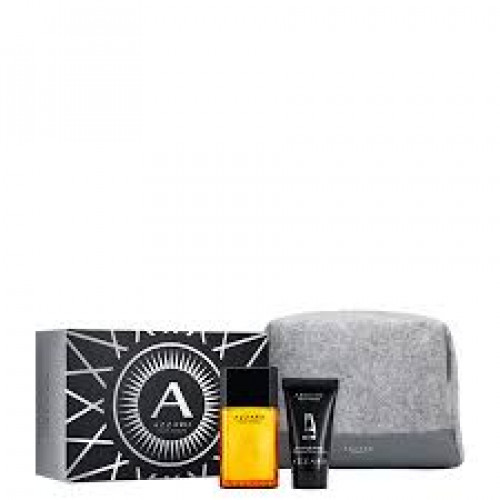 Azzaro Pour Homme Set 50ml eau de toilette spray + 50ml Showergel + Toilettas