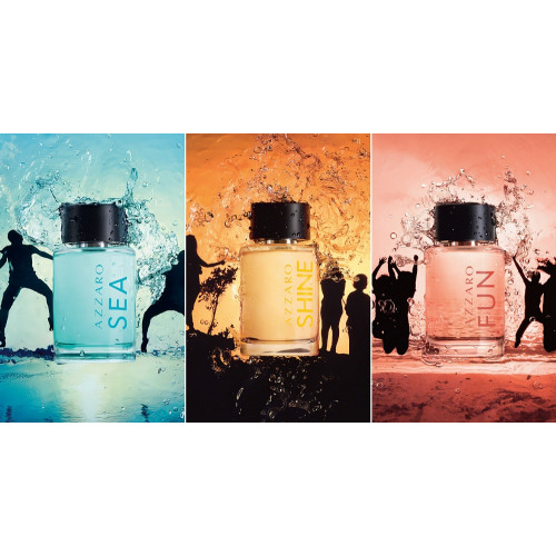 Azzaro Time To Shine Collection Fun 100ml eau de toilette splash & spray
