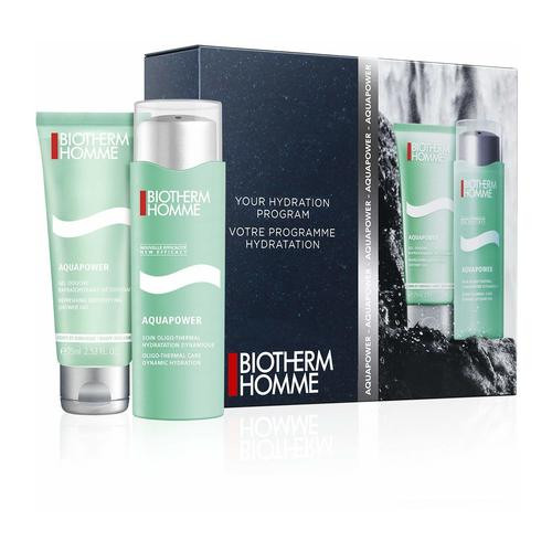 Biotherm Homme Aquapower Set Aquapower 75ml + 75ml Showergel (normale/droge huid)