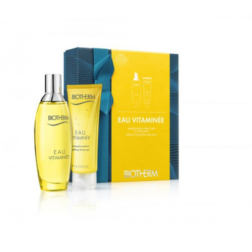 Biotherm Eau Vitaminee Set 100ml eau de toilette spray + 75ml Showergel