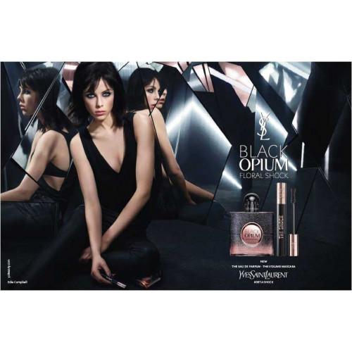 YSL Yves Saint Laurent Black Opium Floral Shock 90ml eau de parfum spray