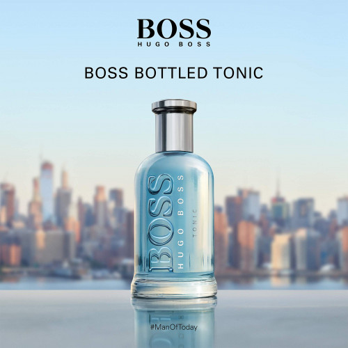 Boss Bottled Tonic Set 100ml eau de toilette spray + 50ml eau de toilette spray