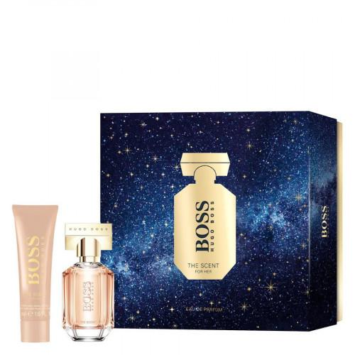 Boss The Scent For Her Set 30ml eau de parfum spray + 50ml Bodylotion