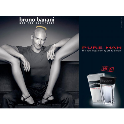 Bruno Banani Pure Man 50ml eau de toilette spray