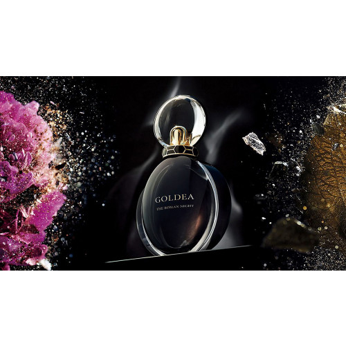 Bvlgari Goldea The Roman Night Set  75ml Eau de Parfum Spray + 75ml Showergel + 75ml Bodylotion + tas
