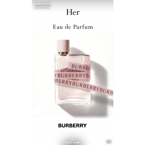 Burberry Her 100ml eau de parfum spray