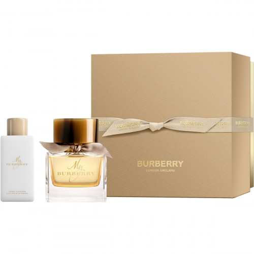 Burberry My Burberry Set 50ml eau de parfum spray + 75ml Bodylotion