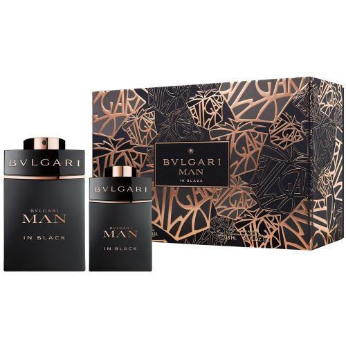 Bvlgari Man in Black Set 60ml eau de parfum spray + 15ml eau de parfum spray