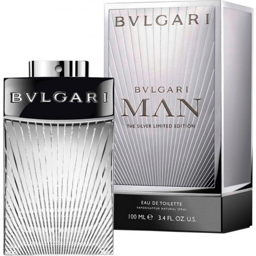 Bvlgari Man The Silver Limited Edition 100ml eau de toilette spray