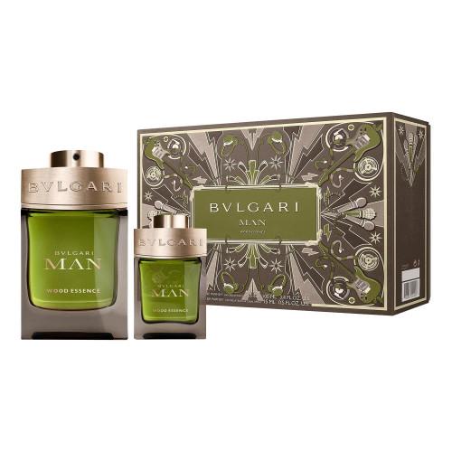 Bvlgari Man Wood Essence set 100ml eau de parfum spray + 15 ml edp