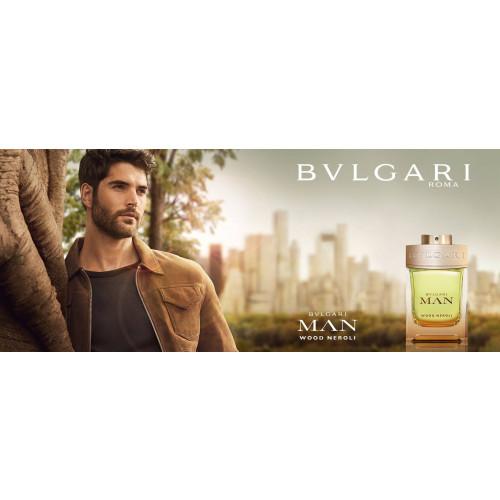 Bvlgari Man Wood Neroli 100ml eau de parfum spray + 15ml eau de parfum spray + Tas