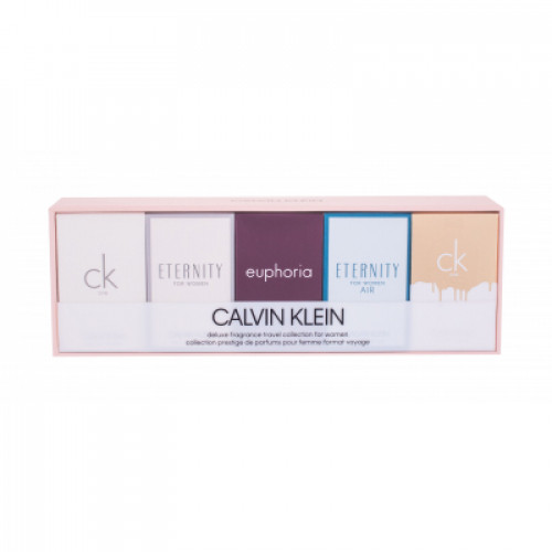 Calvin Klein Dames Miniaturen set  ( Ck One, Eternity for Woman, Euphoria, Eternity Air for Woman, Ck One Gold)
