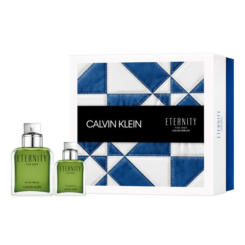 Calvin Klein Eternity for Men Set 100ml Eau de Parfum spray + 30ml Eau de Parfum spray