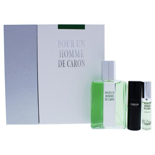 Caron Pour un Homme de Caron 200ml  Eau de Toilette + 15ml Travel Spray + 15ml Refill