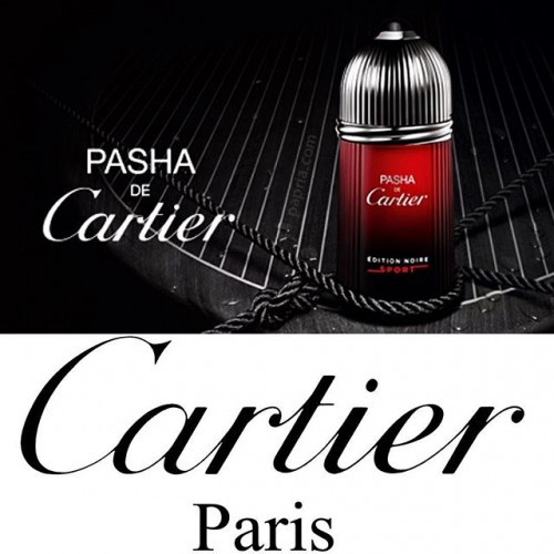 Cartier Pasha de Cartier Edition Noire Sport 100ml eau de toilette spray
