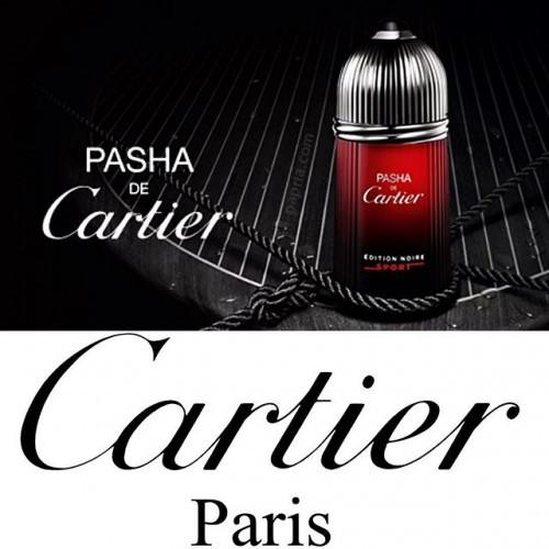 Cartier Pasha de Cartier Edition Noire Sport 50ml eau de toilette spray