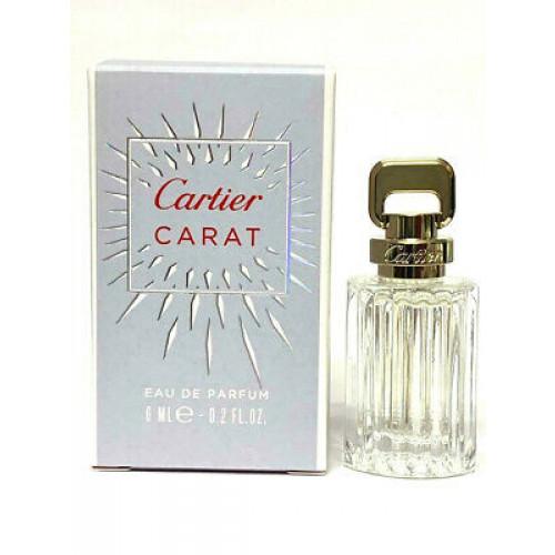 Cartier Carat 6ml eau de parfum Miniatuur