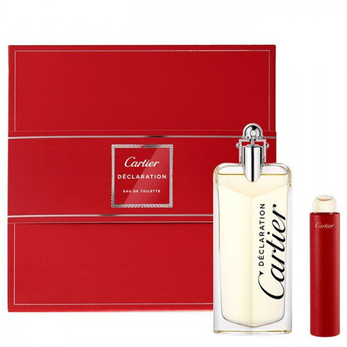 Cartier Declaration Set 100ml eau de toilette spray + 15ml edt