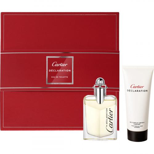 Cartier Declaration Set 100ml eau de toilette spray + 100ml Showergel