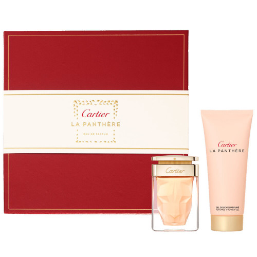Cartier La Panthère Set 50ml eau de parfum spray + 100ml Showergel