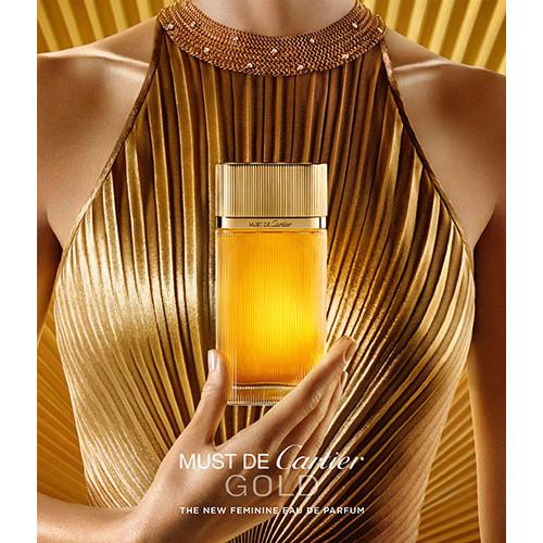 Cartier Must Gold 100ml eau de parfum spray